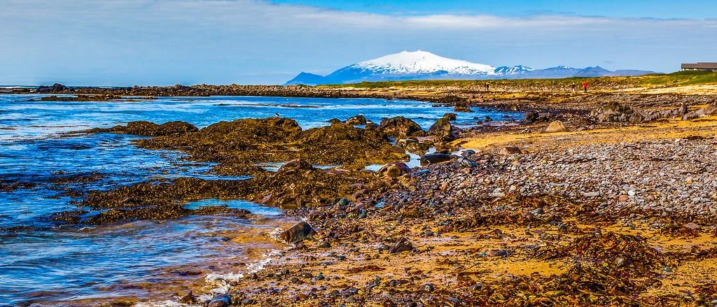 冰岛风采,远望雪山_图1-19