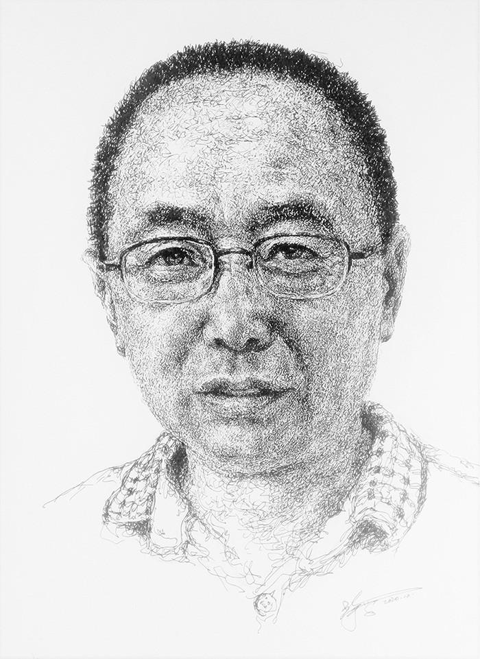 山雪钢笔画——2020作品集_图1-10
