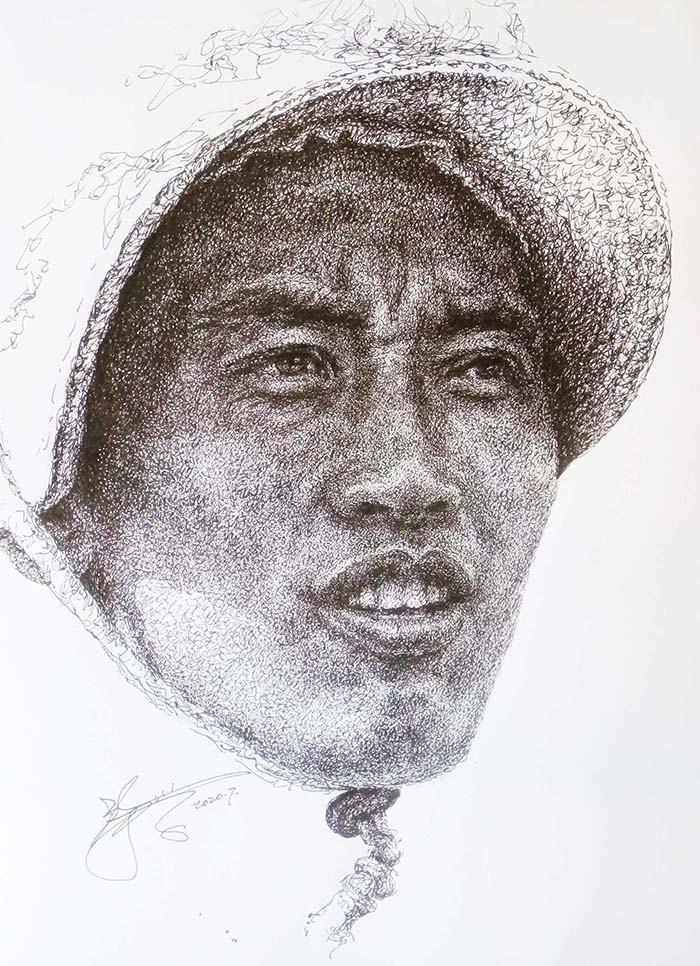 山雪钢笔画——2020作品集_图1-16