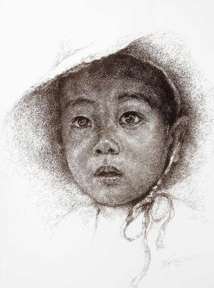 山雪钢笔画——2020作品集_图1-19