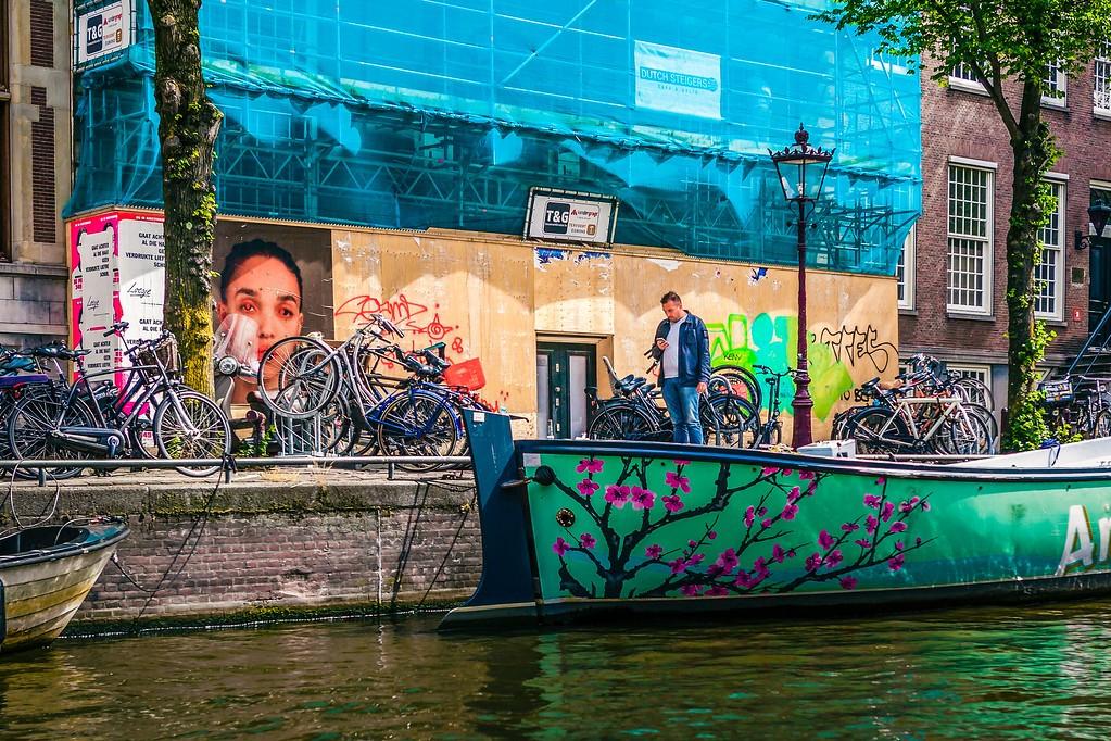 荷兰阿姆斯特丹,水上印象_图1-8