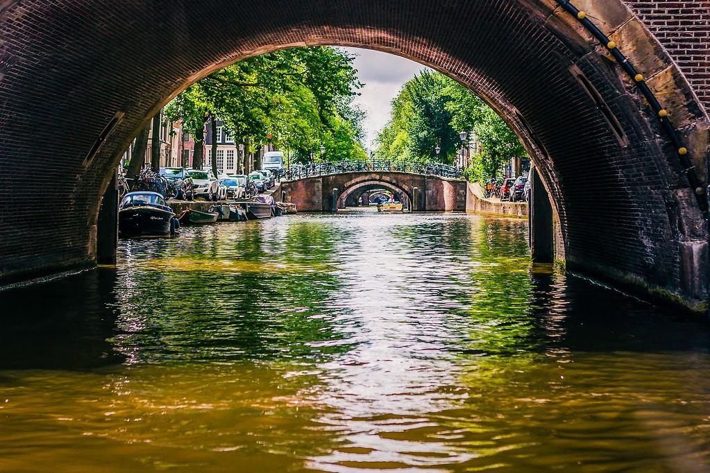 荷兰阿姆斯特丹,水上印象_图1-1