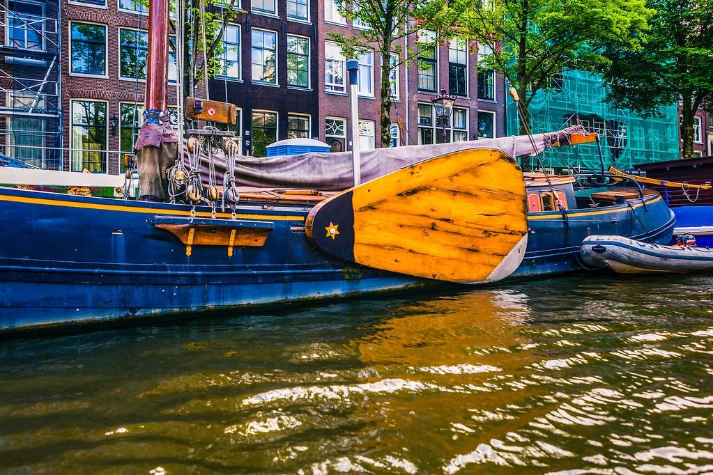 荷兰阿姆斯特丹,水上印象_图1-6