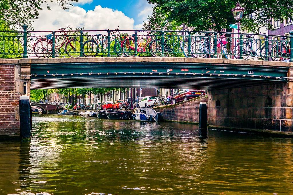荷兰阿姆斯特丹,水上印象_图1-5