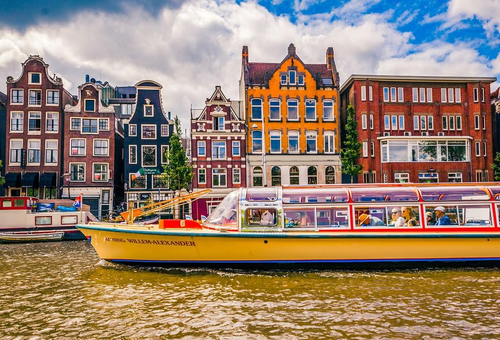 荷兰阿姆斯特丹,水上印象_图1-9