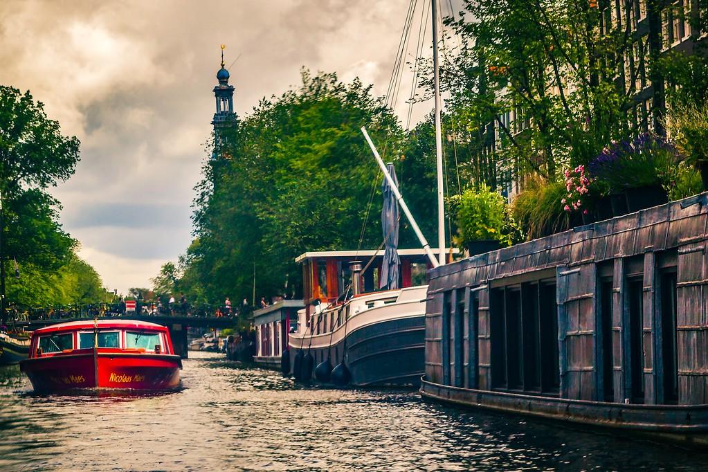 荷兰阿姆斯特丹,水上印象_图1-11
