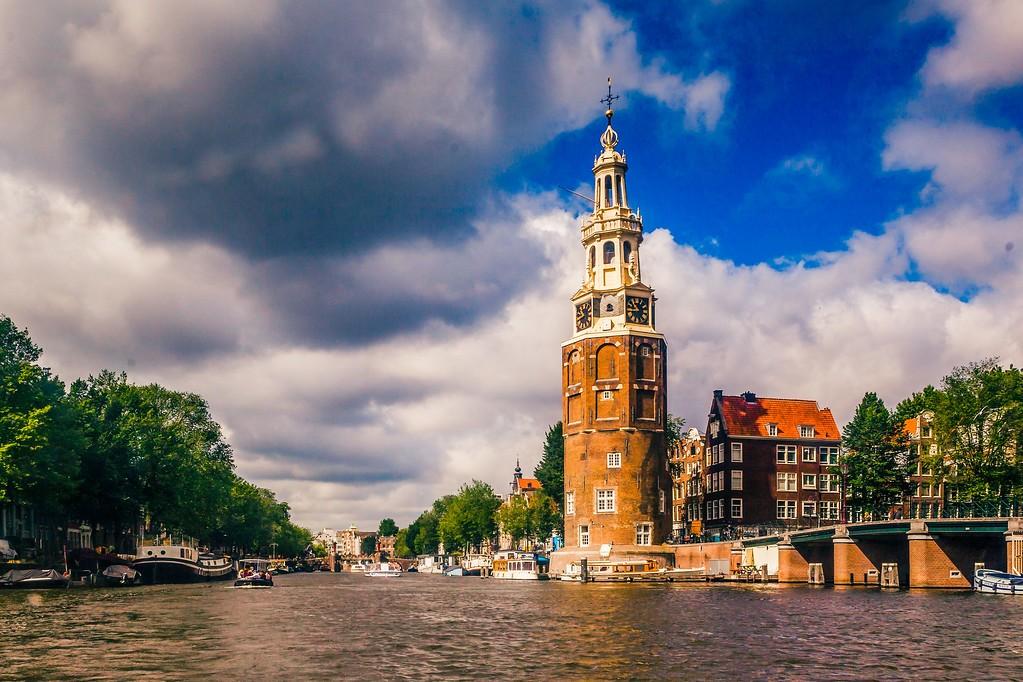 荷兰阿姆斯特丹,水上印象_图1-12