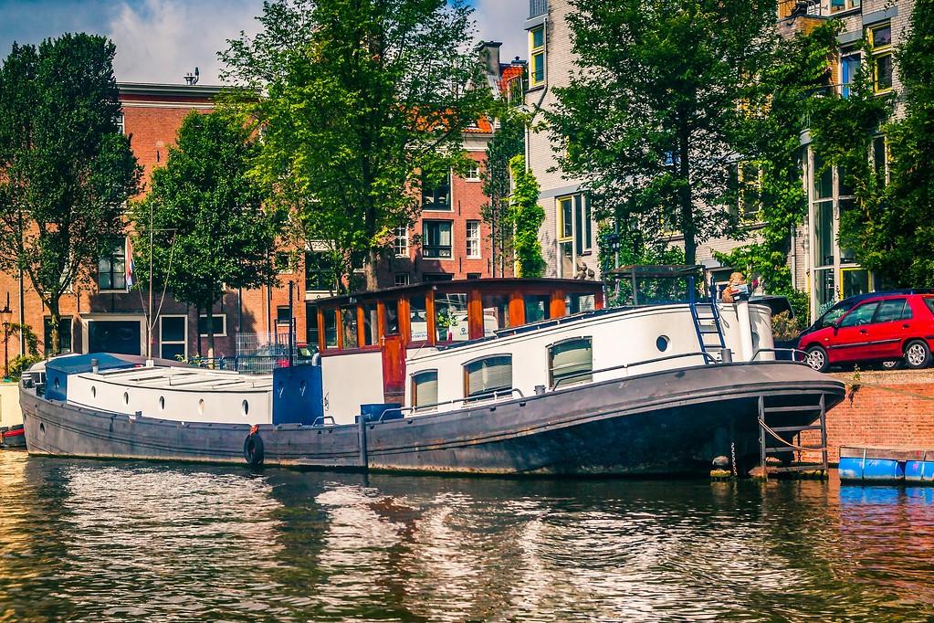 荷兰阿姆斯特丹,水上印象_图1-16