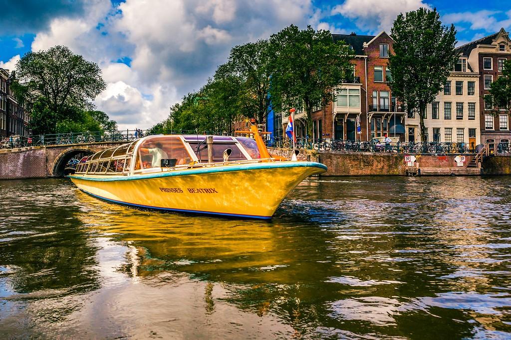 荷兰阿姆斯特丹,水上印象_图1-15