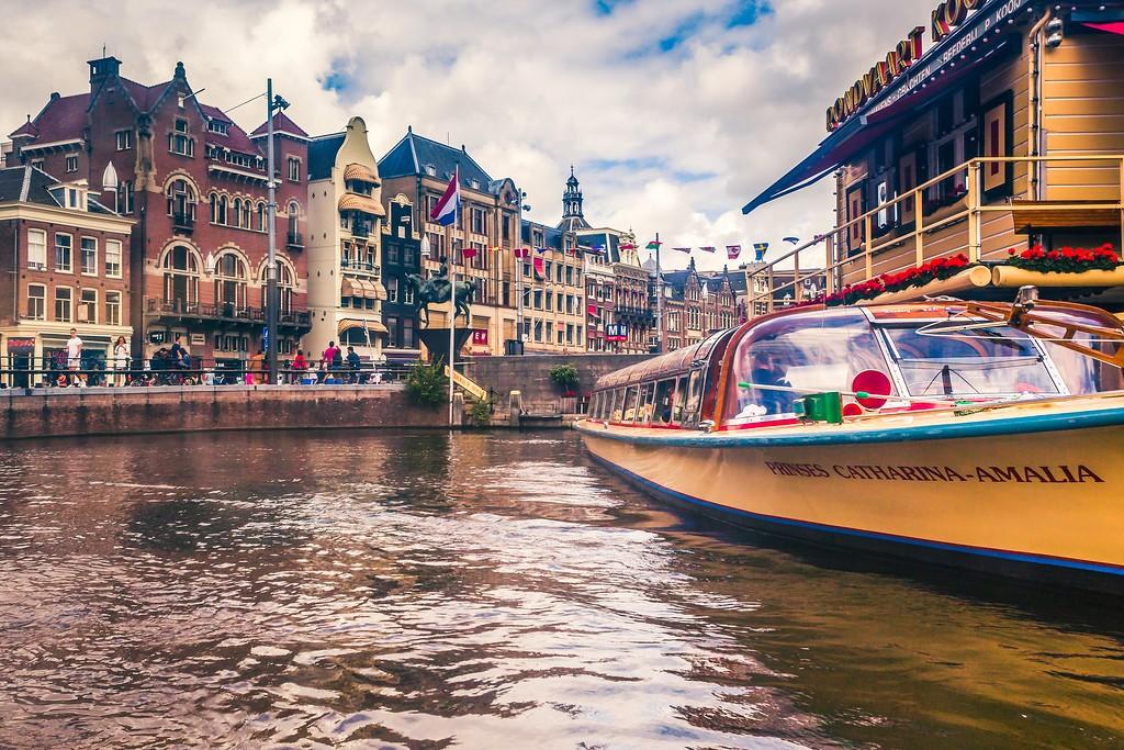 荷兰阿姆斯特丹,水上印象_图1-14
