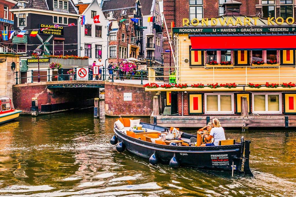荷兰阿姆斯特丹,水上印象_图1-13