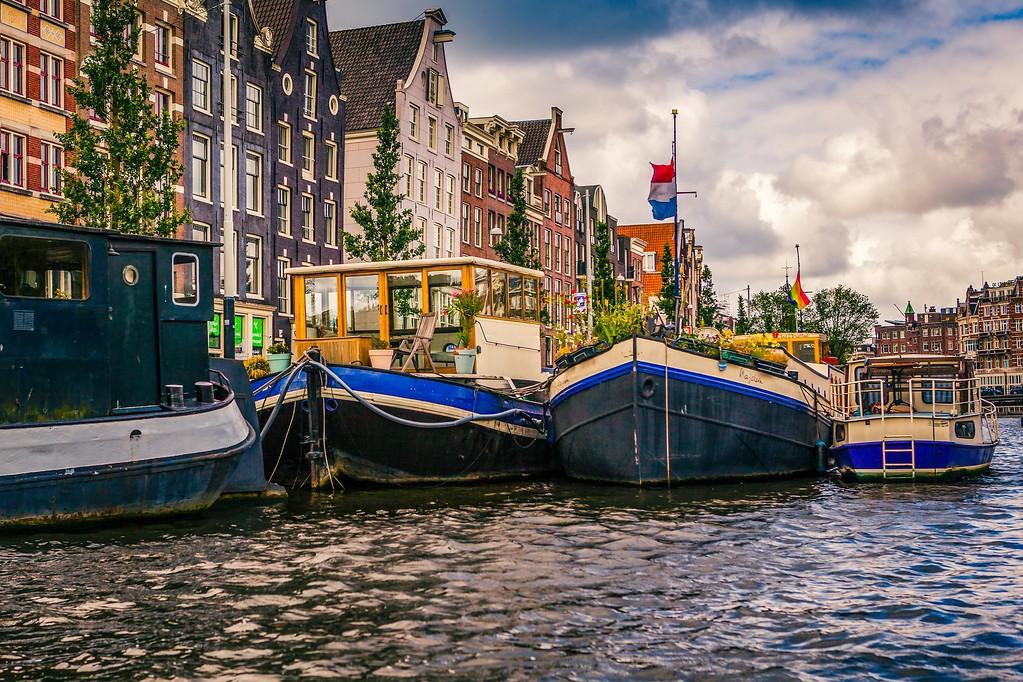 荷兰阿姆斯特丹,水上印象_图1-17