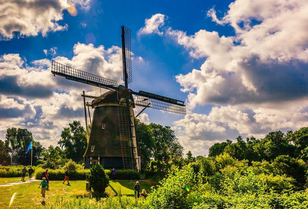 荷兰阿姆斯特丹,水上印象_图1-19