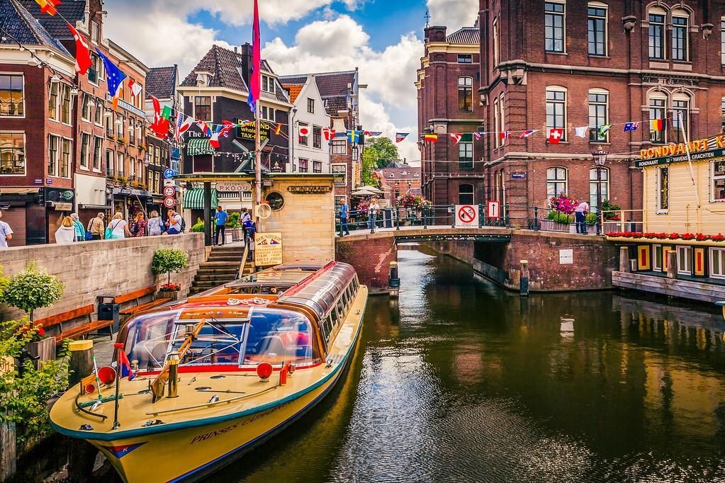 荷兰阿姆斯特丹,水上印象_图1-20