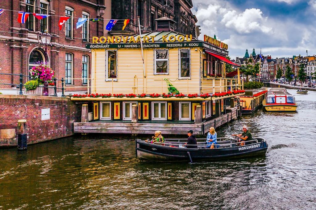 荷兰阿姆斯特丹,水上印象_图1-25