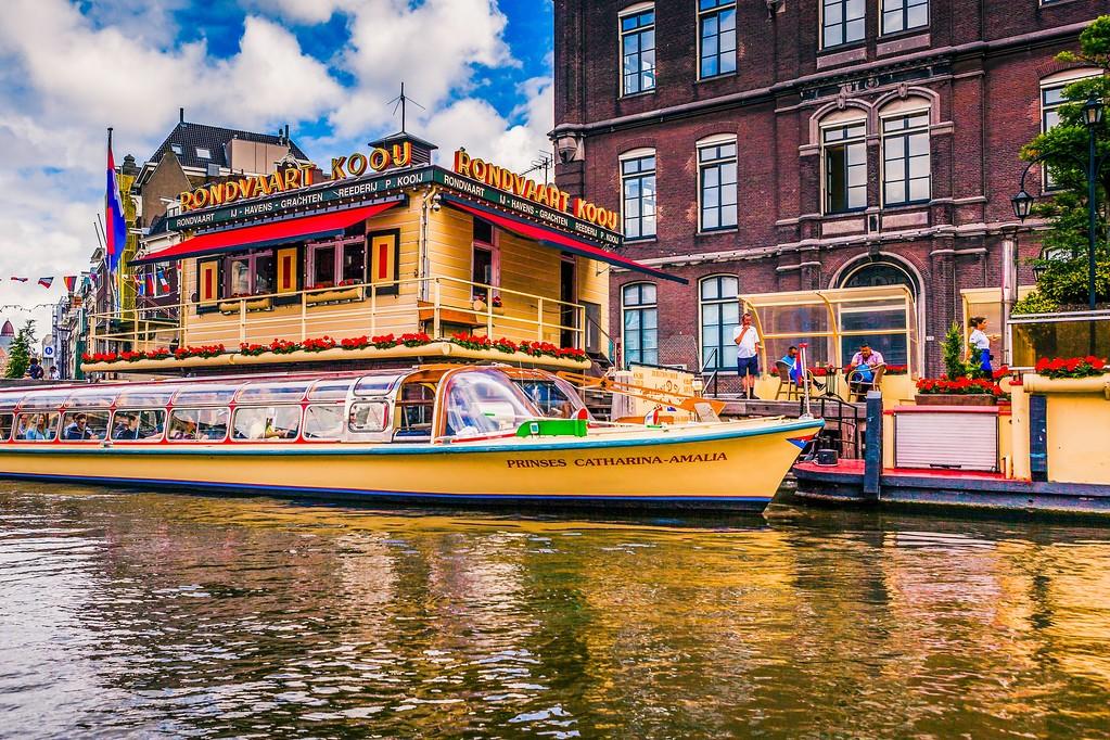 荷兰阿姆斯特丹,水上印象_图1-23