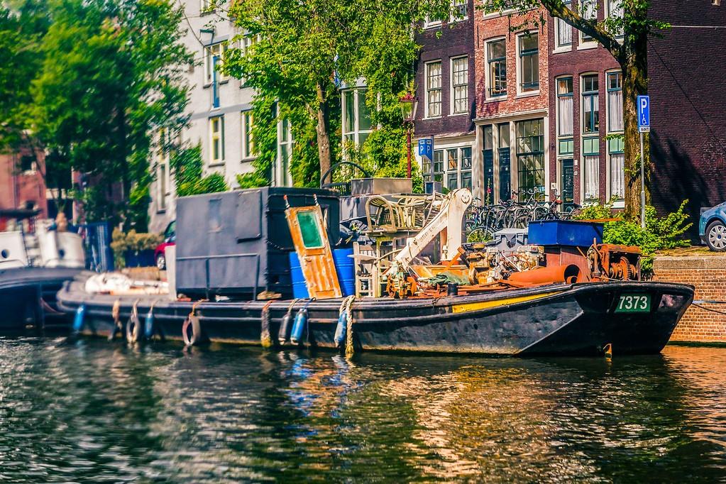 荷兰阿姆斯特丹,水上印象_图1-24