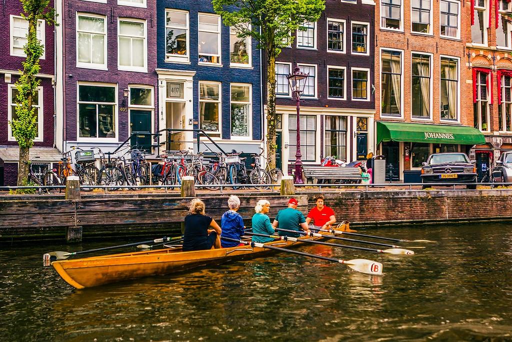 荷兰阿姆斯特丹,水上印象_图1-22