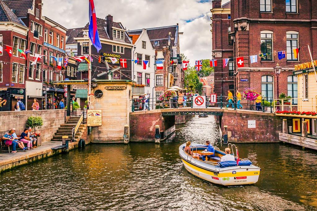 荷兰阿姆斯特丹,水上印象_图1-26