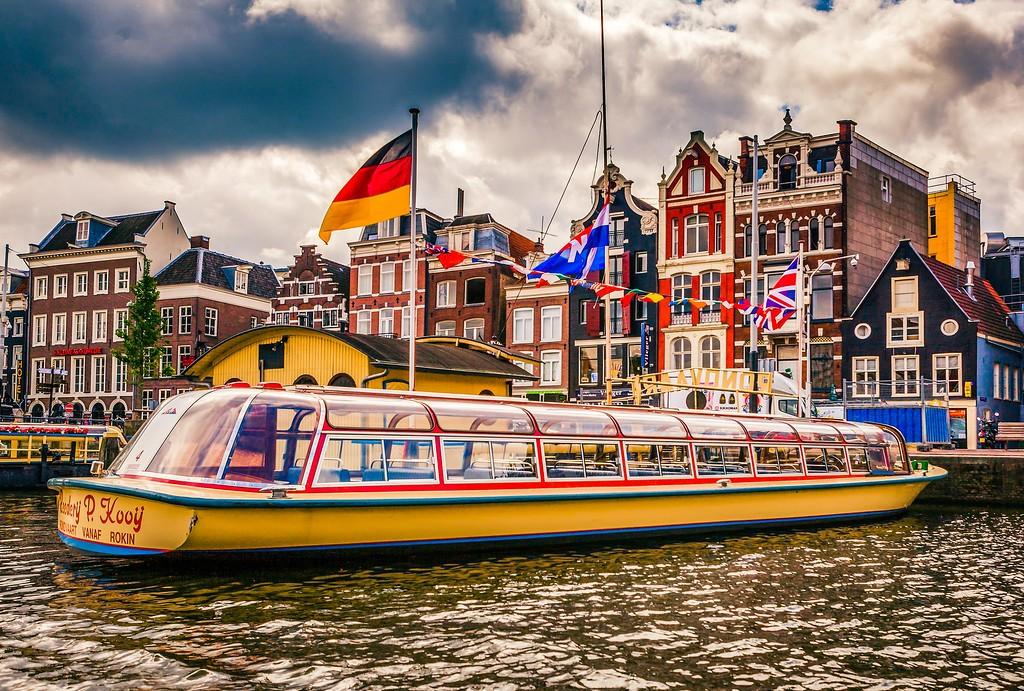 荷兰阿姆斯特丹,水上印象_图1-28