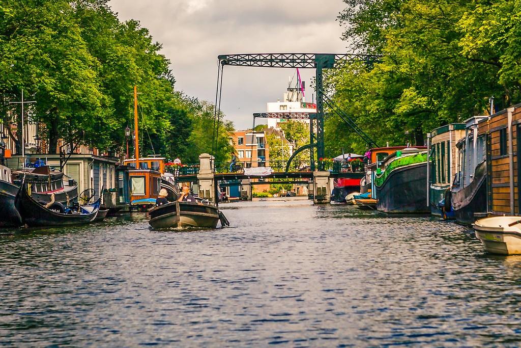 荷兰阿姆斯特丹,水上印象_图1-30