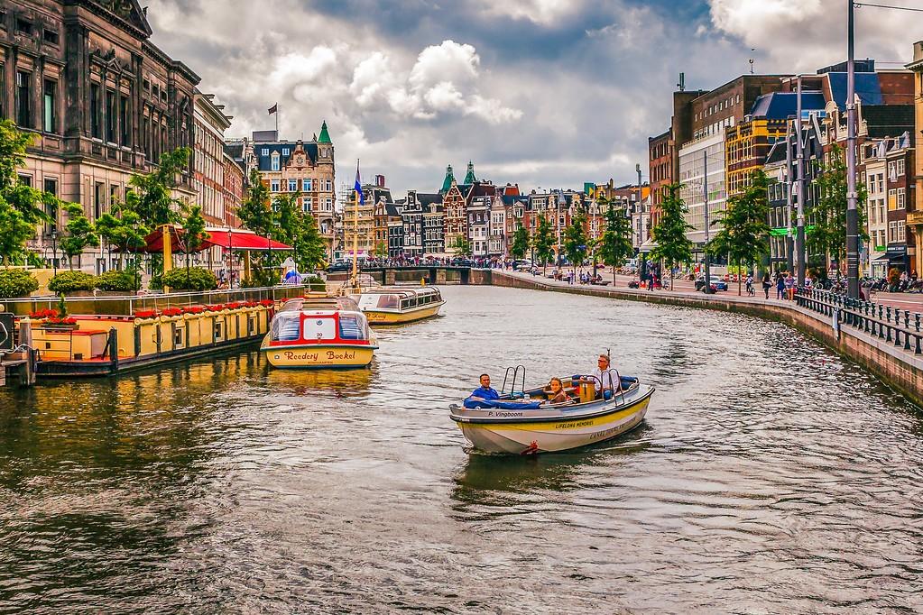 荷兰阿姆斯特丹,水上印象_图1-31