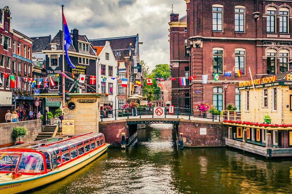 荷兰阿姆斯特丹,水上印象_图1-29