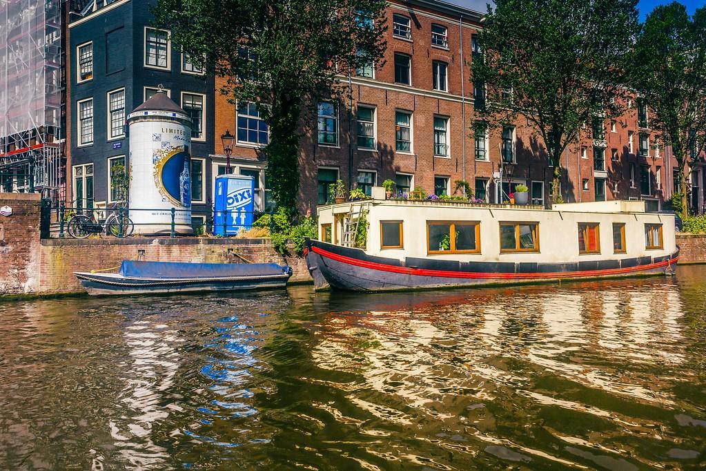 荷兰阿姆斯特丹,水上印象_图1-27