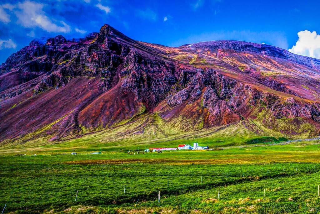 冰岛风采,平地而起_图1-9