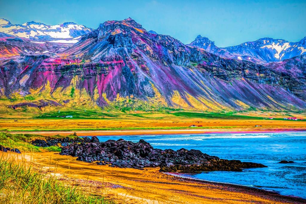 冰岛风采,平地而起_图1-6