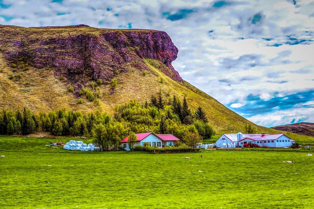 冰岛风采,平地而起_图1-1