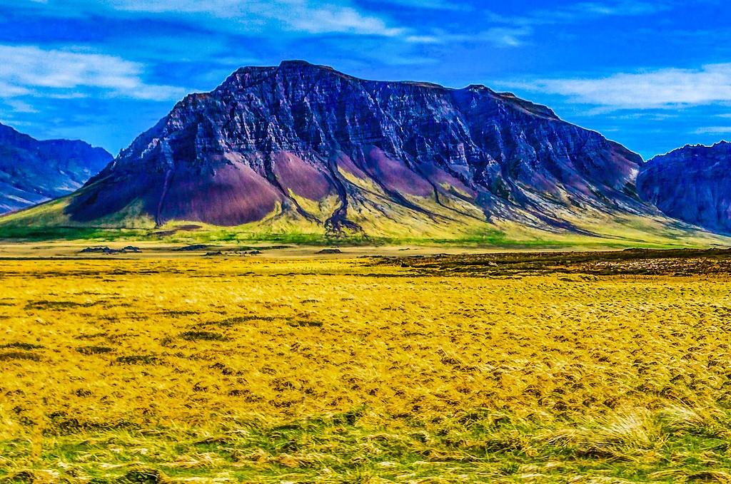 冰岛风采,平地而起_图1-4