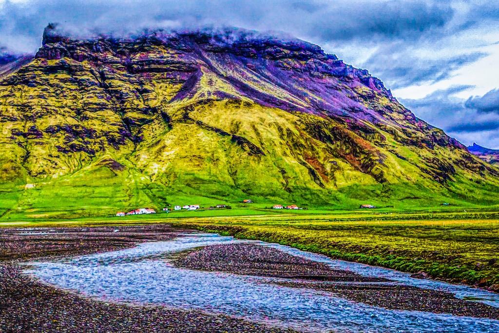 冰岛风采,平地而起_图1-16