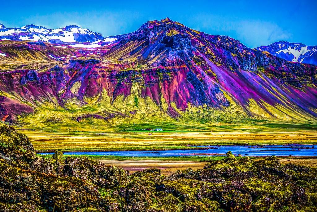 冰岛风采,平地而起_图1-17