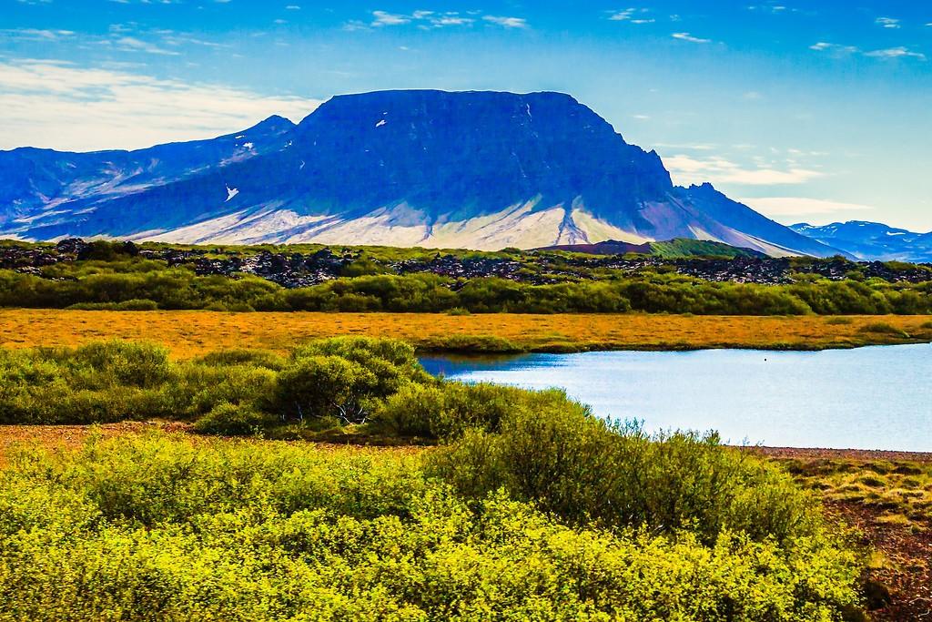 冰岛风采,平地而起_图1-19