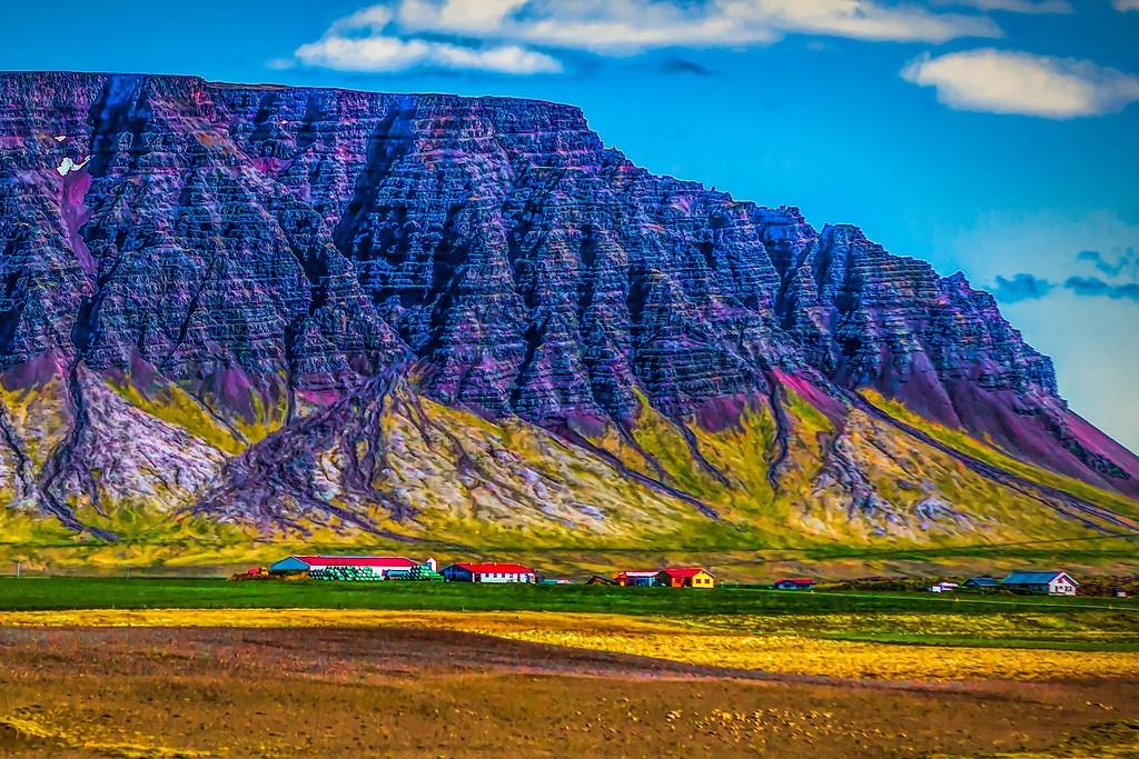 冰岛风采,平地而起_图1-22