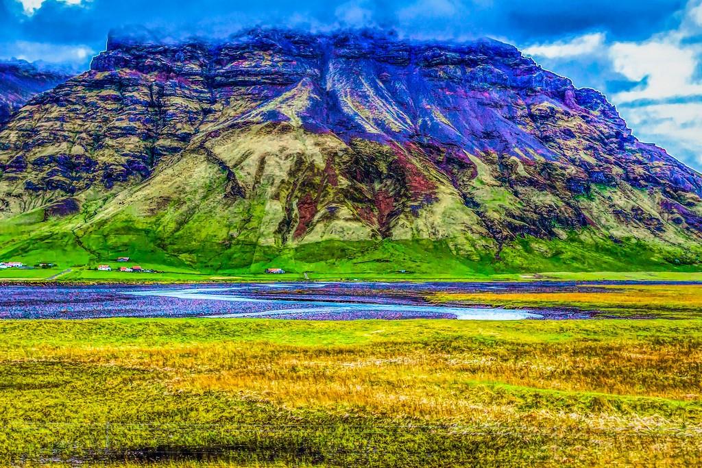 冰岛风采,平地而起_图1-28
