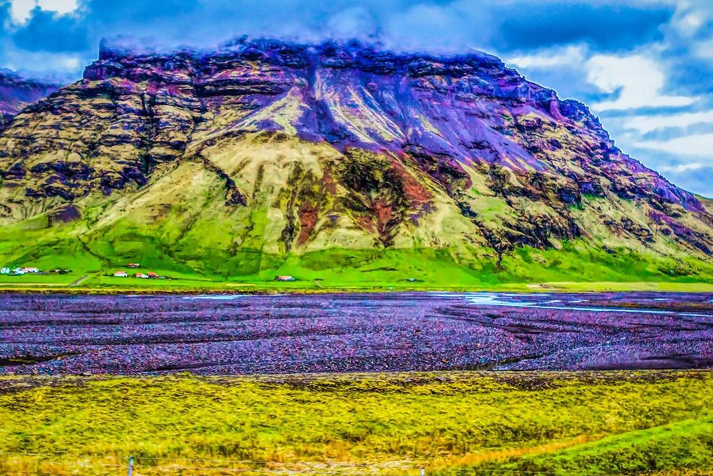 冰岛风采,平地而起_图1-25