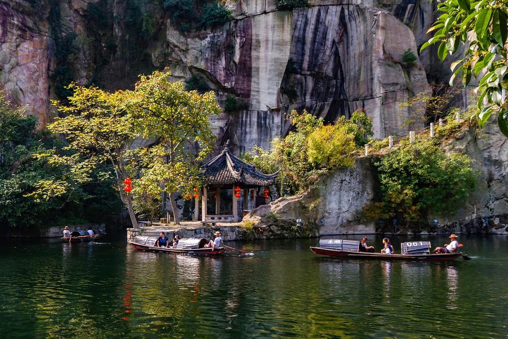 浙江东湖,風景不遜西湖_图1-21