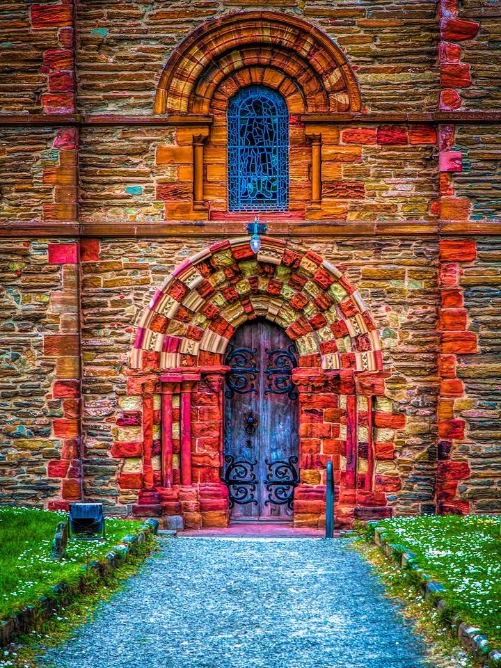 苏格兰奥克尼岛(Orkney Islands),教堂一游_图1-8