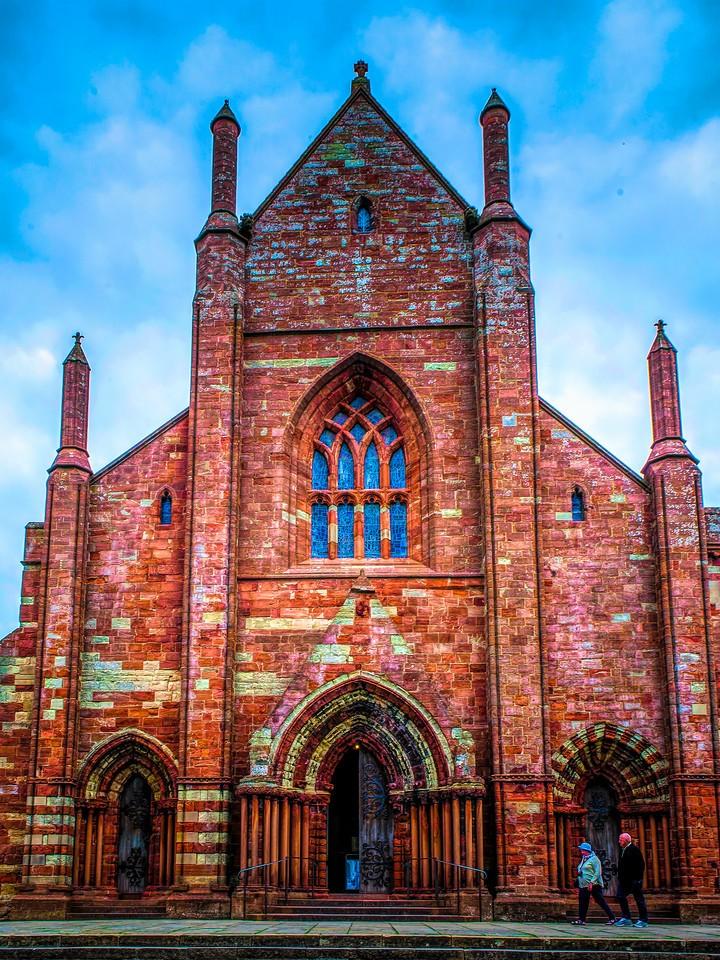 苏格兰奥克尼岛(Orkney Islands),教堂一游_图1-11
