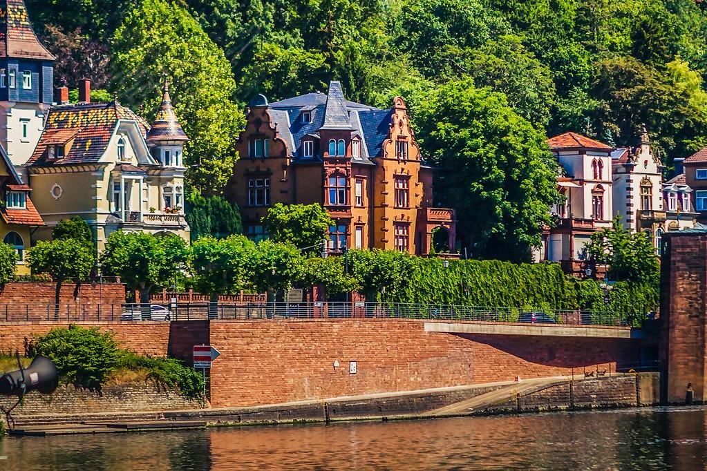 德国曼海姆(Mannheim),小城风貌_图1-10