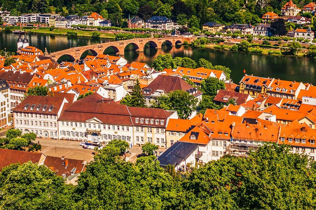 德国曼海姆(Mannheim),小城风貌_图1-5