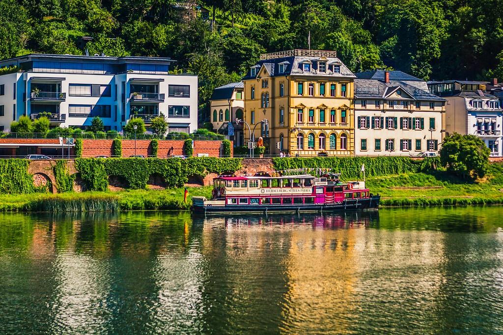 德国曼海姆(Mannheim),小城风貌_图1-9