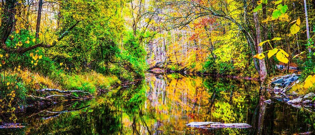宾州雷德利克里克公园(Ridley creek park),秋意浓浓_图1-13