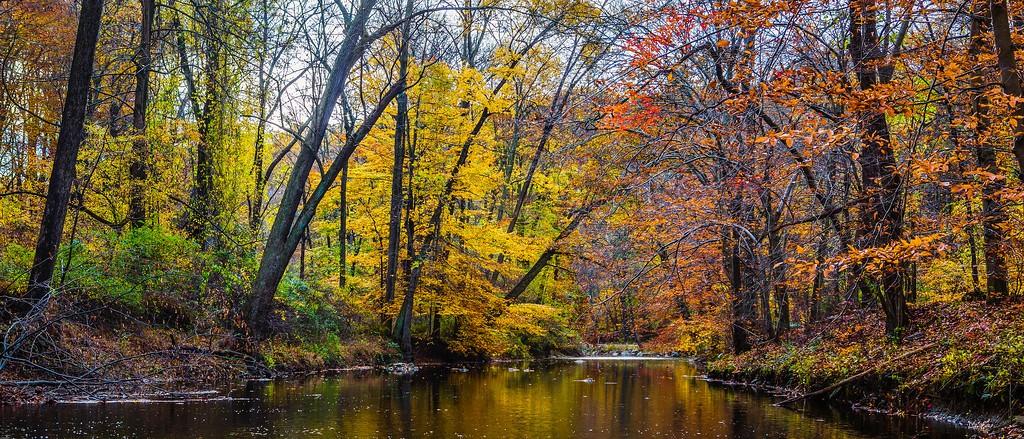 宾州雷德利克里克公园(Ridley creek park),秋意浓浓_图1-6