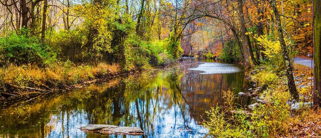 宾州雷德利克里克公园(Ridley creek park),秋意浓浓_图1-5