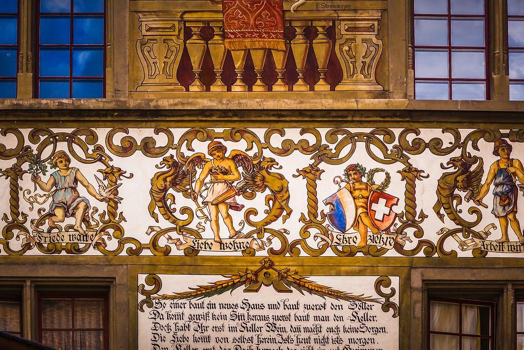 瑞士卢塞恩(Lucerne),城市壁画_图1-3