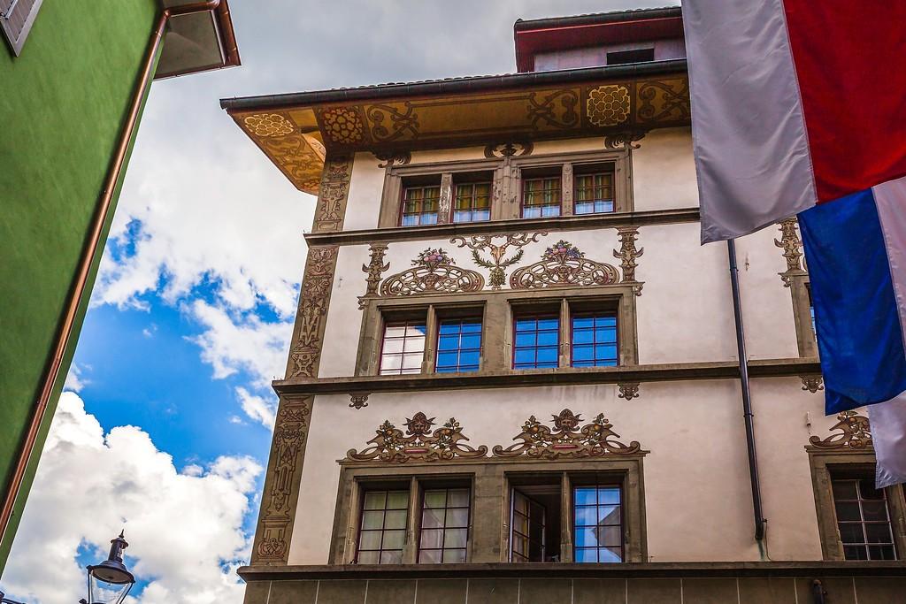 瑞士卢塞恩(Lucerne),城市壁画_图1-14