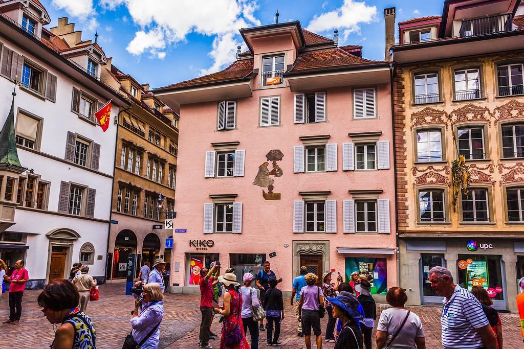 瑞士卢塞恩(Lucerne),城市壁画_图1-20